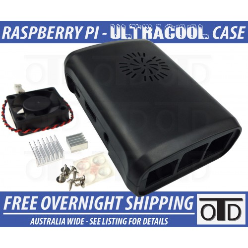 Raspberry Pi Active Cooling UltraCOOL Case