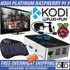 Raspberry Pi 3 KODI Platinum Streaming Media Centre