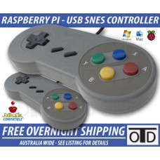 OTD SNES Style Plug and Play USB Zero Delay Controller