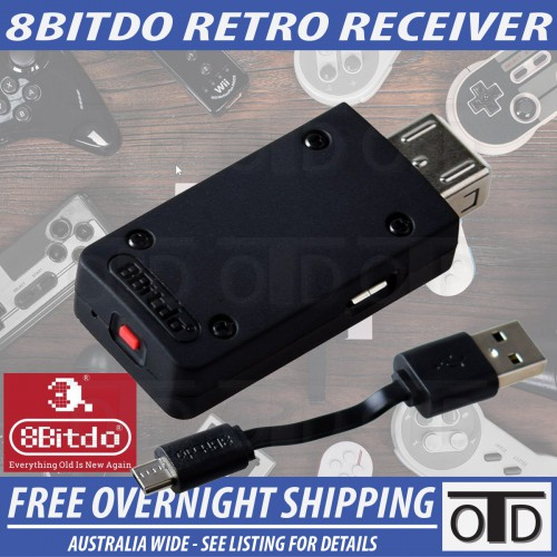 8Bitdo Retro Receiver Bluetooth Adapter For NES / SNES / SFC Classic Series Consoles